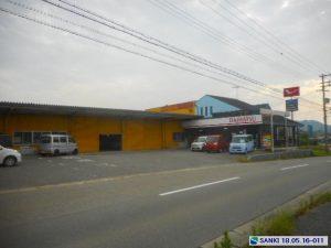 加古川市志方町上冨木にある駐車スペース付きの貸し工場の物件です。