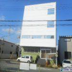 三基建設 尼崎市名神町にある倉庫・事務所です。鉄骨造4階建 延べ床面積190坪 荷物用エレベーターが設置有りで、駅から徒歩圏内の物件です。